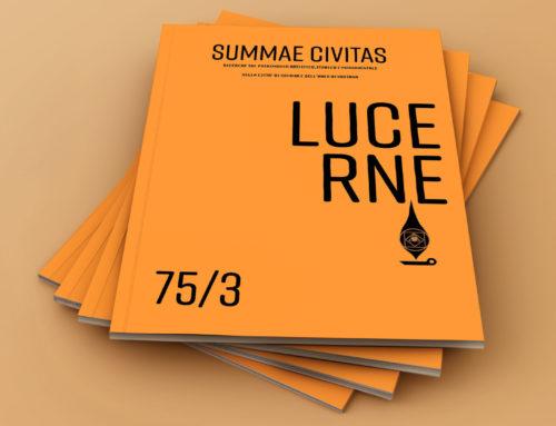 Presentazione del numero unico della rivista Summae Civitas, dedicato alla Festa delle Lucerne
